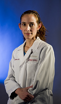 Kimberly Stegmaier, M.D. photographed for Paths of Progress