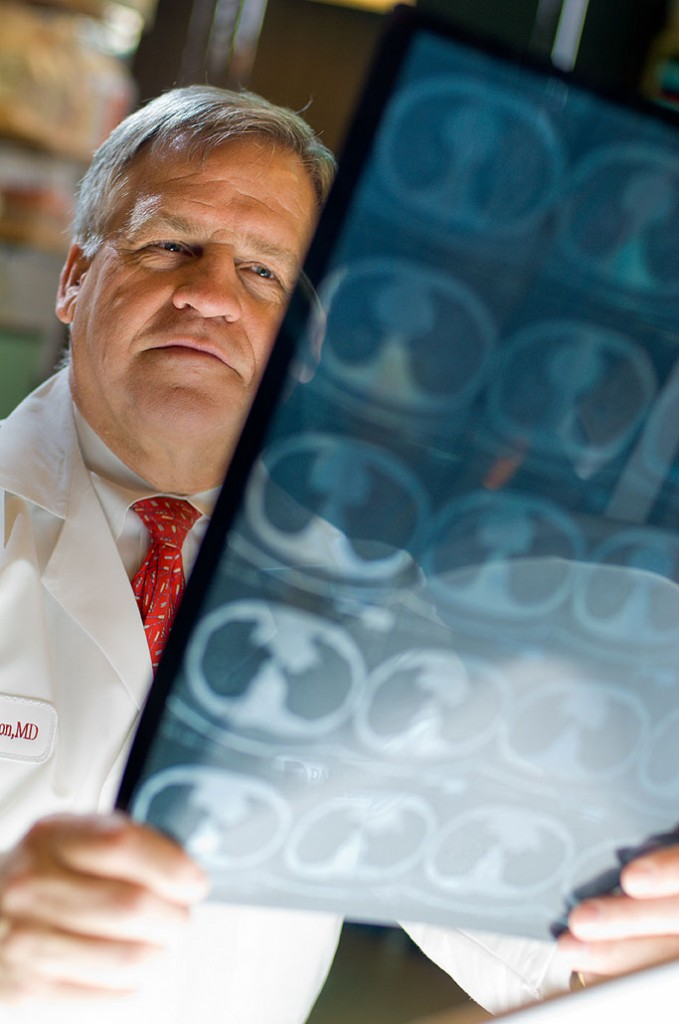 Bruce Johnson, MD, is director of Dana-Farber's Lowe Center for Thoracic Oncology.