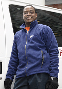 Andre Seale Blood Mobile Driver