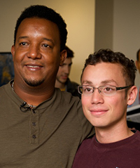 Pedro Martinez and Fernando Morales