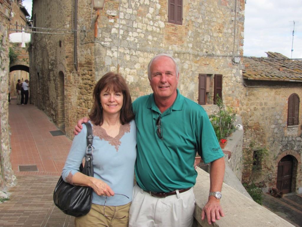 Patrick and Angela Palmer