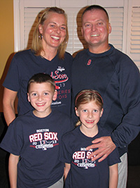 Tim Crowley and family