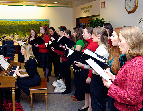 holiday singers