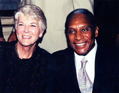 Geraldine Ferraro and Ron Burton
