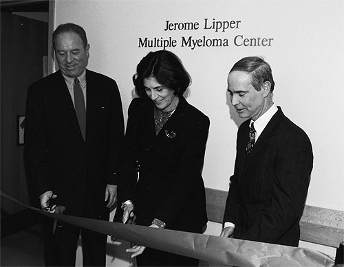 Jerome Lipper Multiple Myeloma dedication