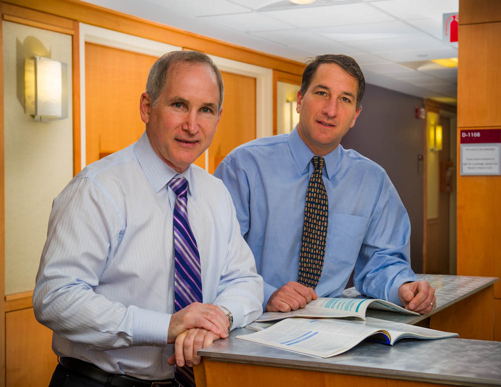 Charles Fuchs, MD, MPH, and Jeffrey Meyerhardt, MD, MPH, of the Gastrointestinal Cancer Center at Dana-Farber/Brigham and Women's Cancer Center