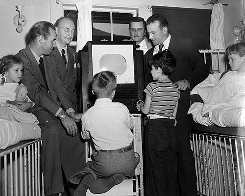 Boston Braves hospital visit