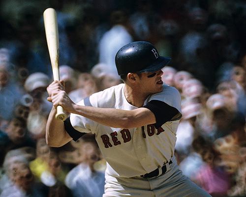 Mike Andrews at bat