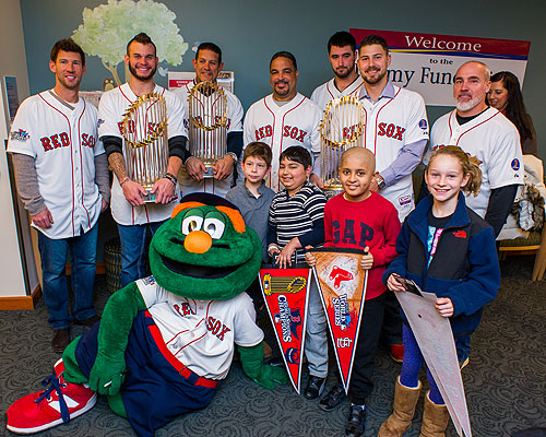 Red Sox players with three world series trophies