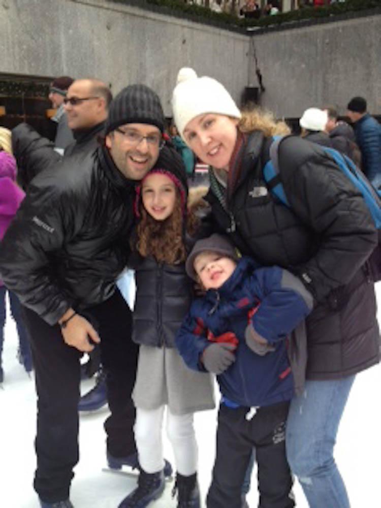 Gerardo Martinez and his family
