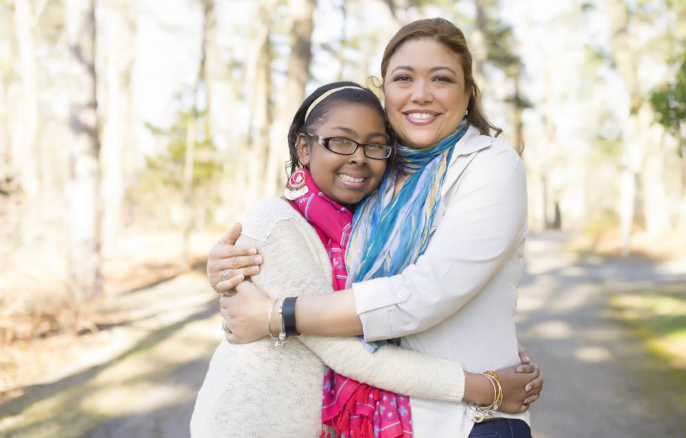 Tatyana Abrams and her mom, Deanna
