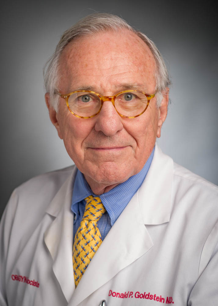 Donald P. Goldstein, MD, co-director and founder of the New England Trophoblastic Disease Center