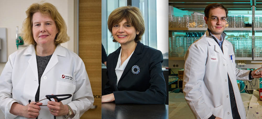 Ursula Matulonis, MD; Susana Campos, MD, MPH; and Panos Konstantinopoulos, MD, PhD