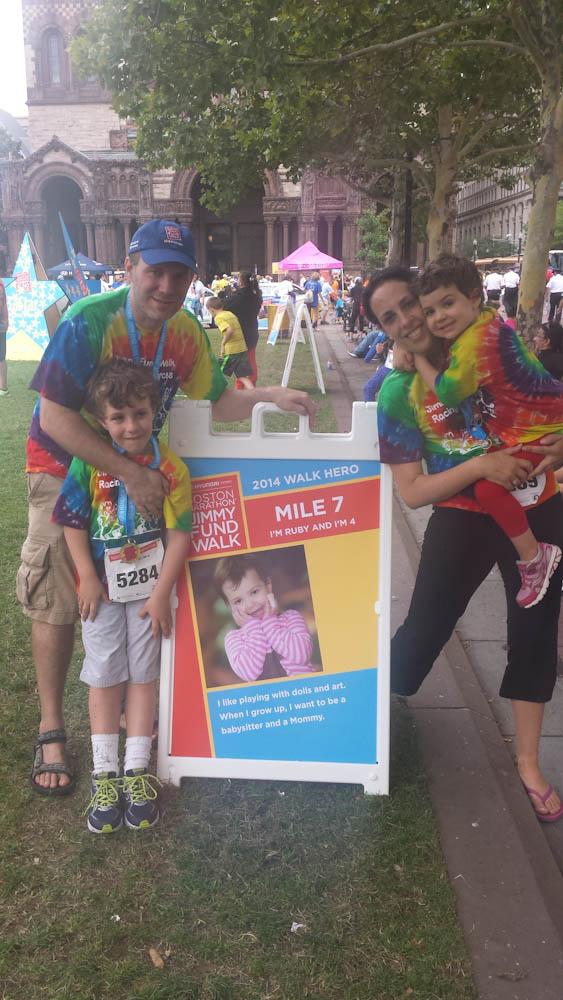 Jimmy Fund Walk, child cancer