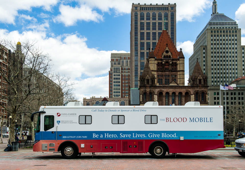 Dana-Farber/Brigham and Women's Blood Mobile