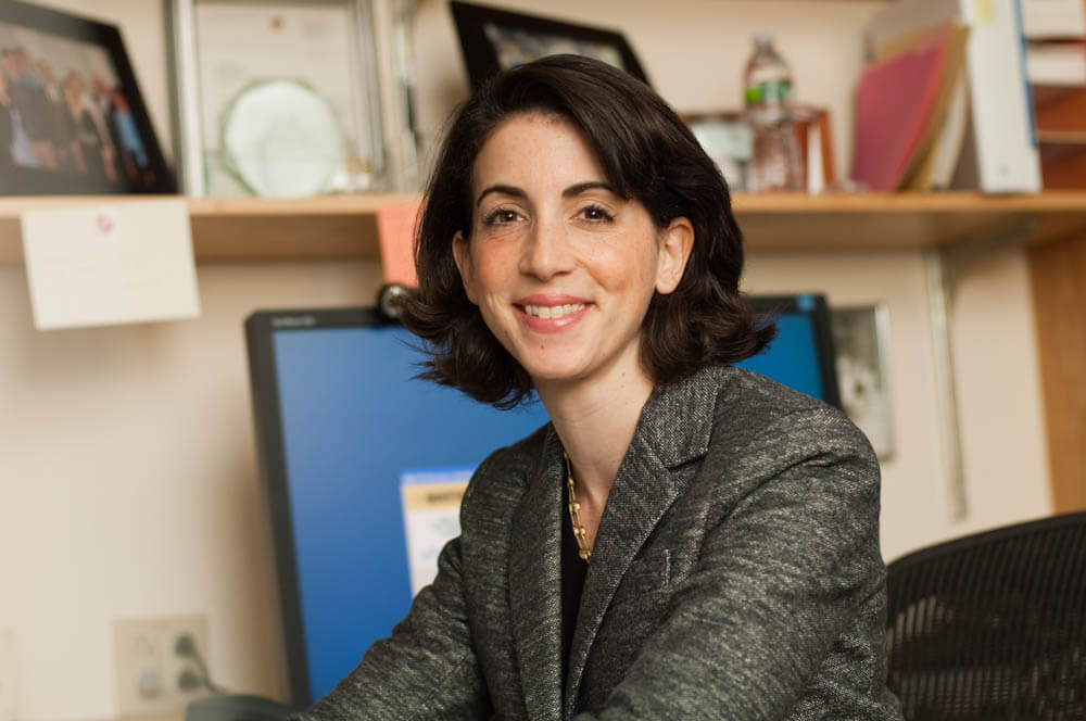 Erica Mayer, MD, MPH, a breast oncologist in the Susan F. Smith Center for Women's Cancers at Dana-Farber.