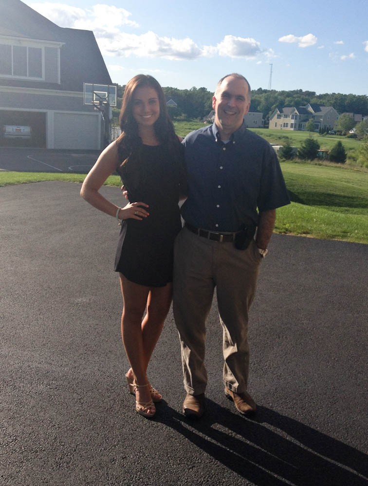 Elise and her dad, Steven