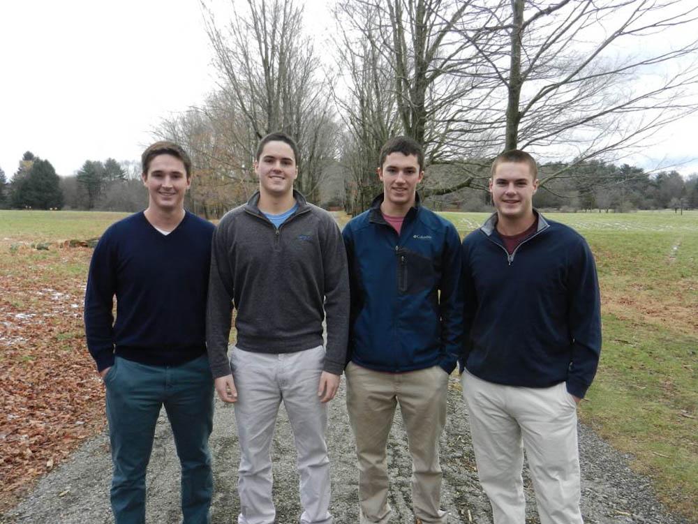 Duncan's four sons.