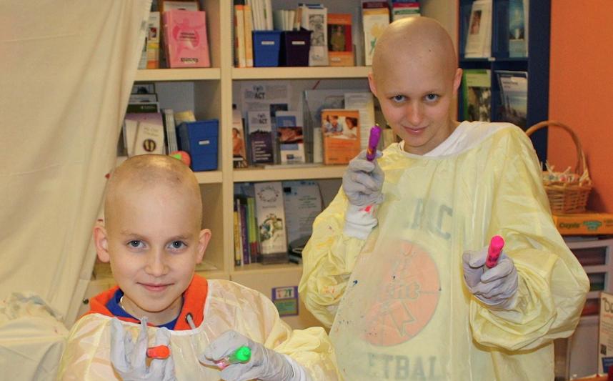 Shannon and Zack, Dana-Farber/Boston Children's patients
