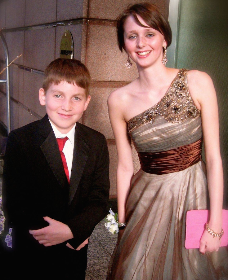"Shannon and Zack at ""A Prom to Remember"""