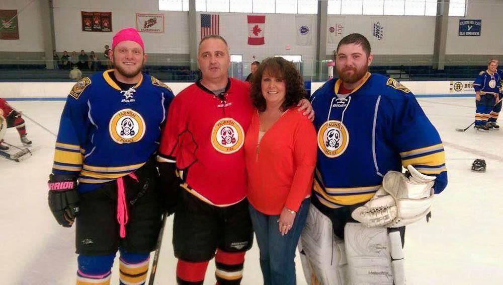 lymphoma, charity hockey