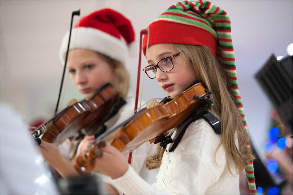 brain tumor, violin, holidays