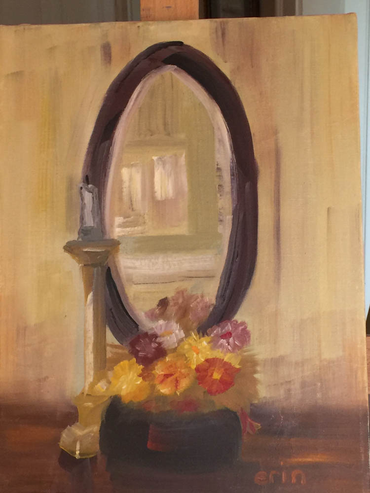Erin Cummings painting