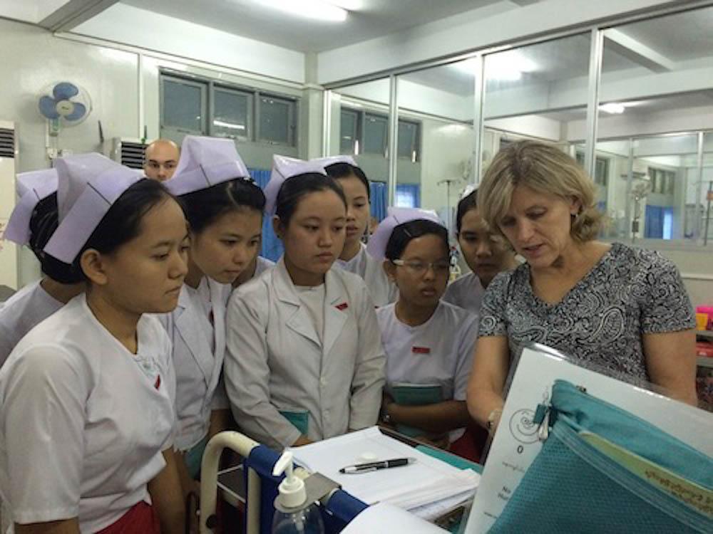 Global health, mayanmar