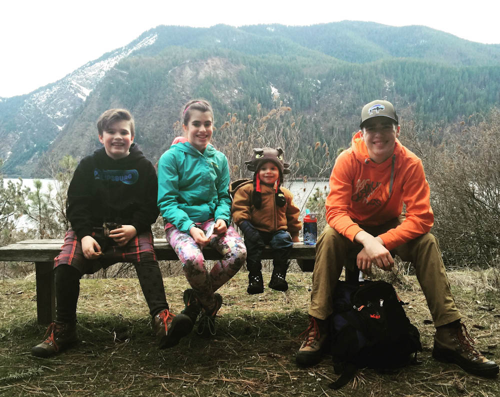 Riley Stevens and family