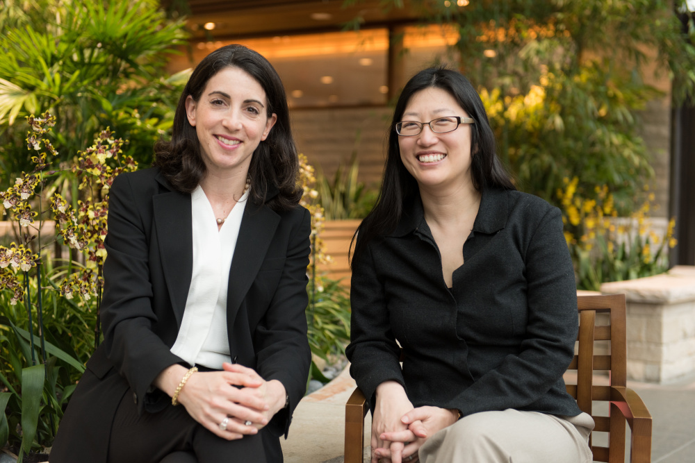 Erica Mayer and Nancy Lin