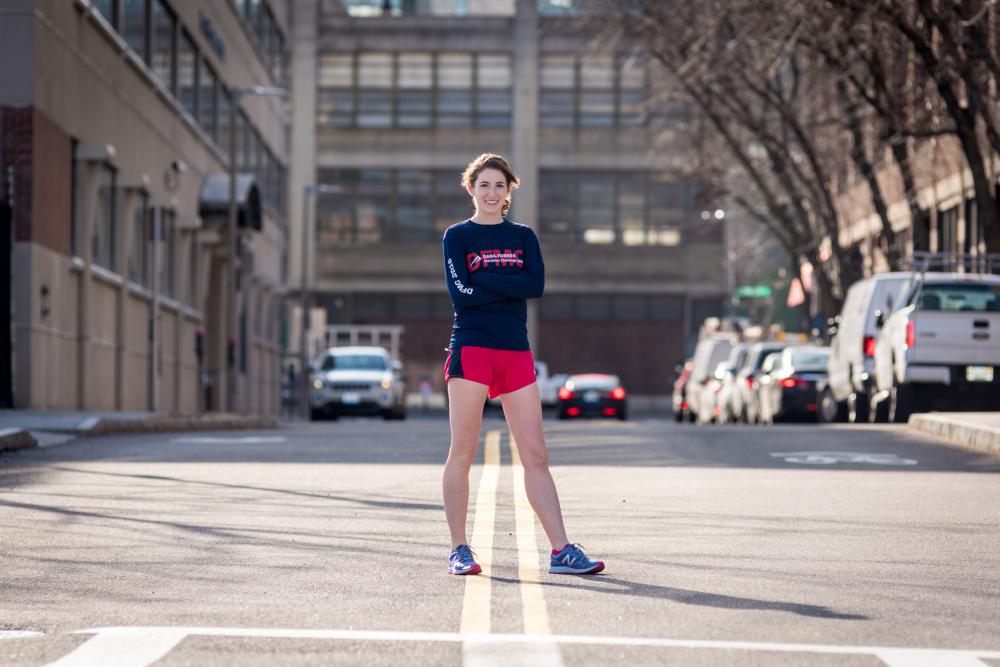 Mary Taber Boston Marathon