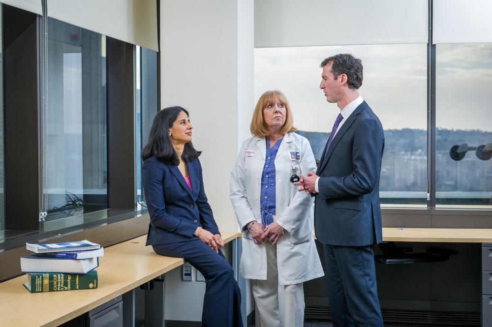 Sara Tolaney, MD, MPH; Margaret Haldoupis, RN; and Ian Krop, MD, PhD