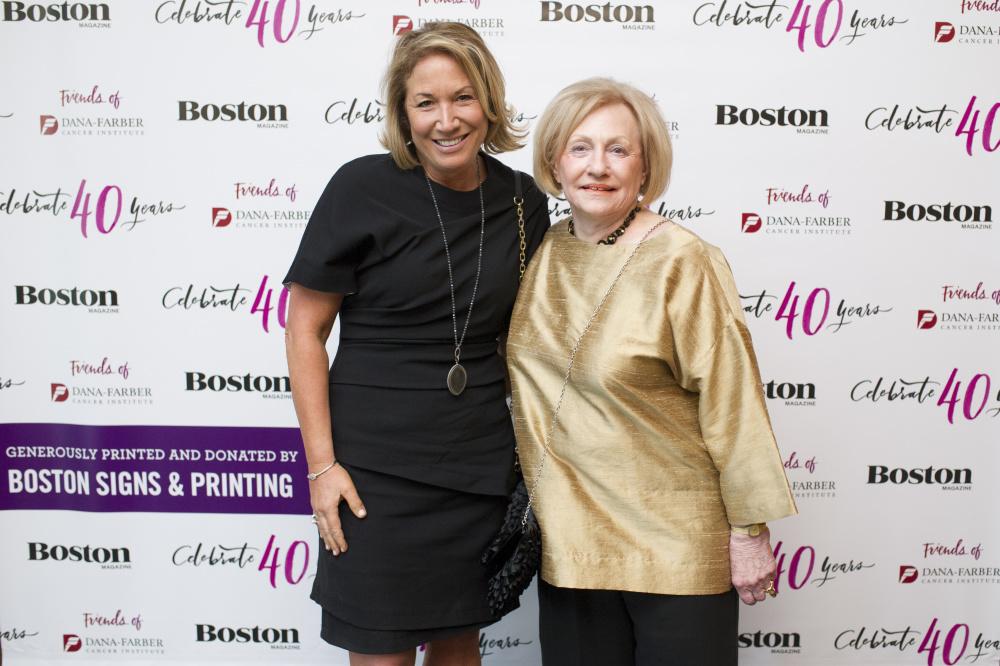 Lauren Frei, Marilyn Wolman, Friends of Dana-Farber