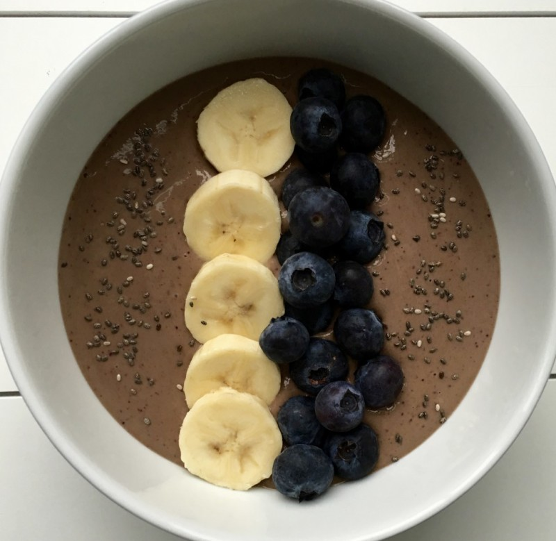 Berry Banana Smoothie Bowl