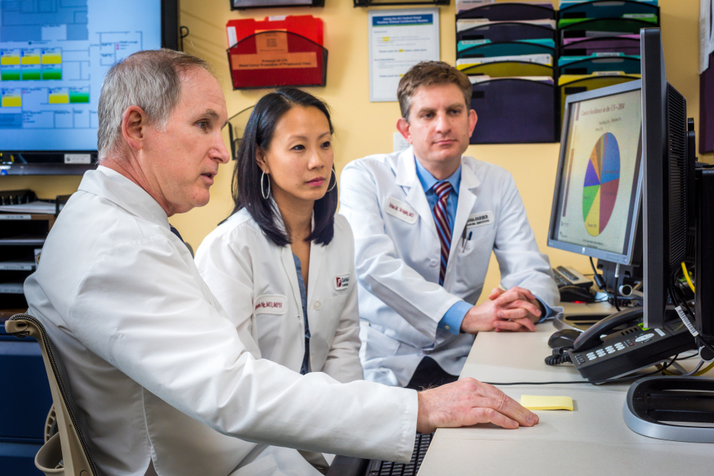 Charles Fuchs, MD, Kimmie Ng, MD, and Brian Wolpin, MD