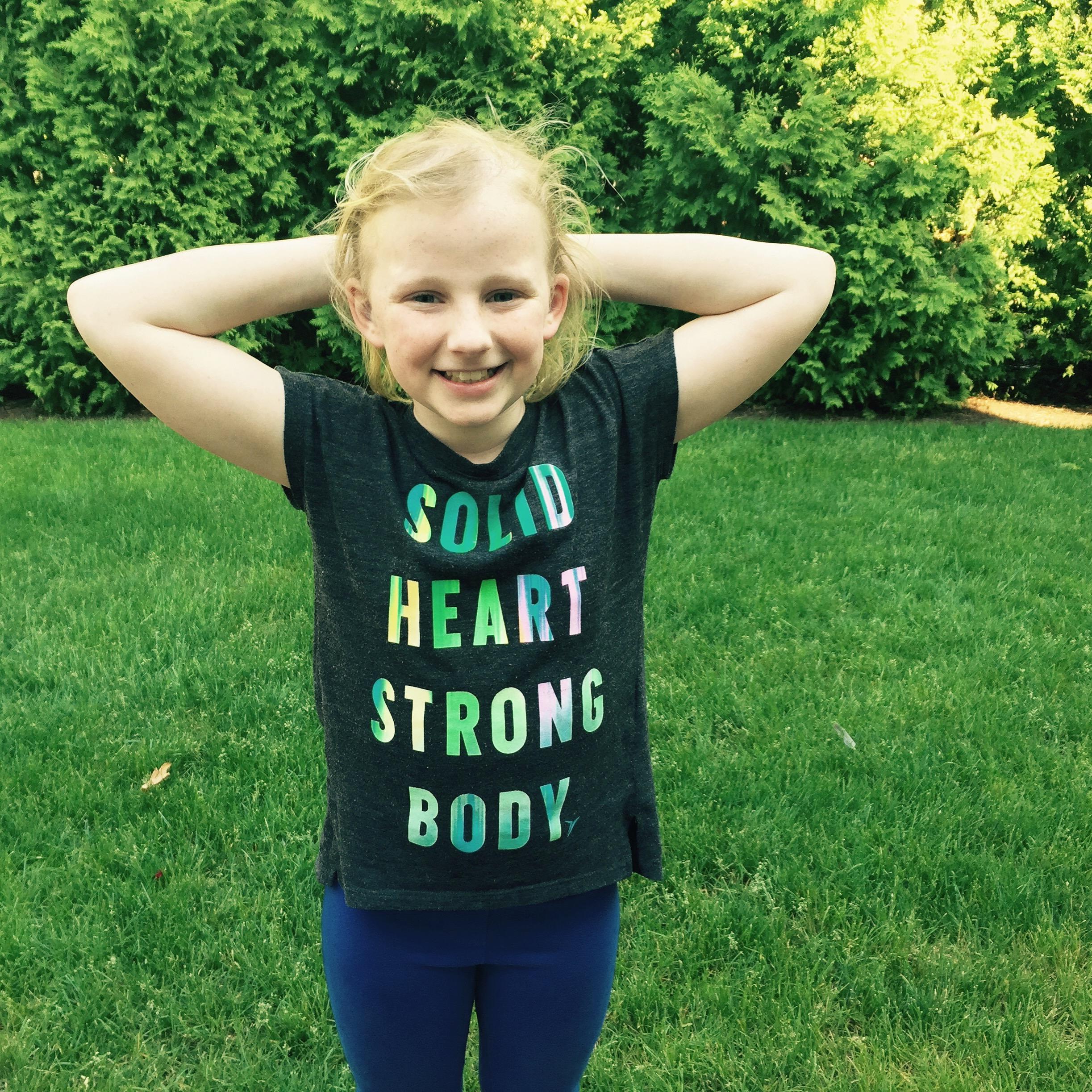 Emily Coughlin, neuroblastoma, pediatric