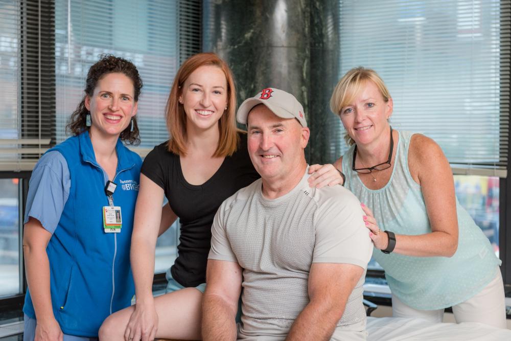 Lauren Marsden. Don Marsden, Kraft Center, stem cell transplant