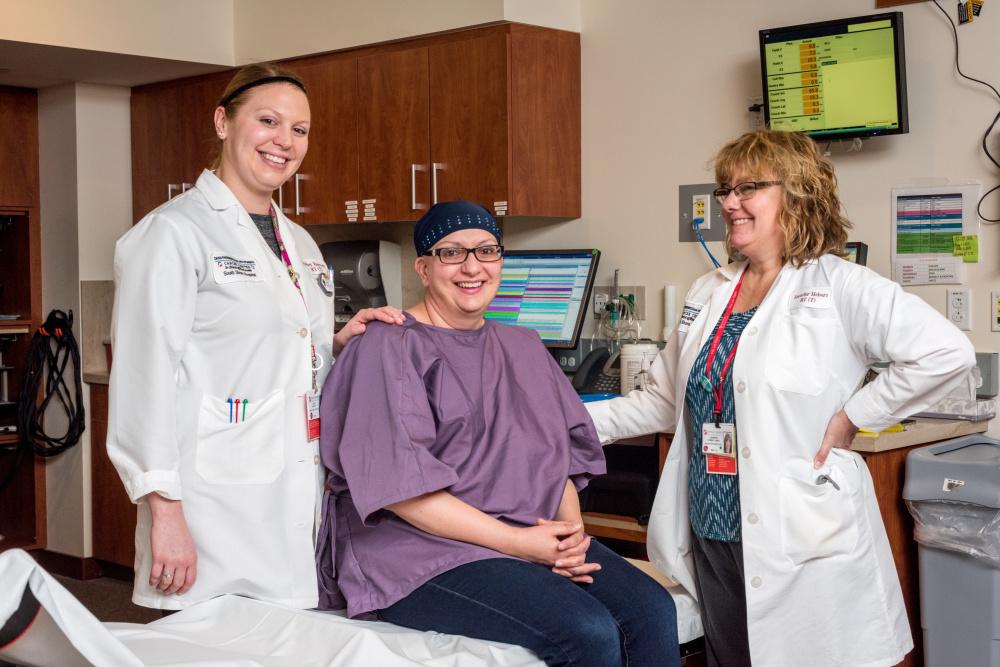 breast cancer, radiation, cathy mccue