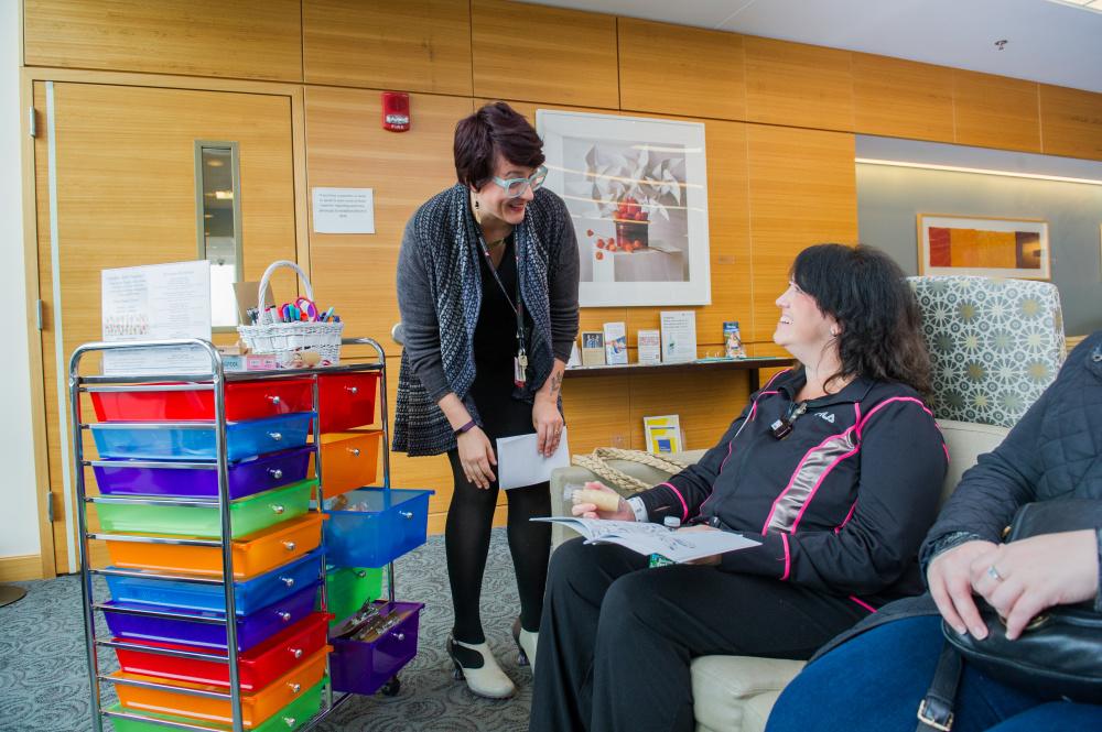 art, integrative therapies, Heather Woods