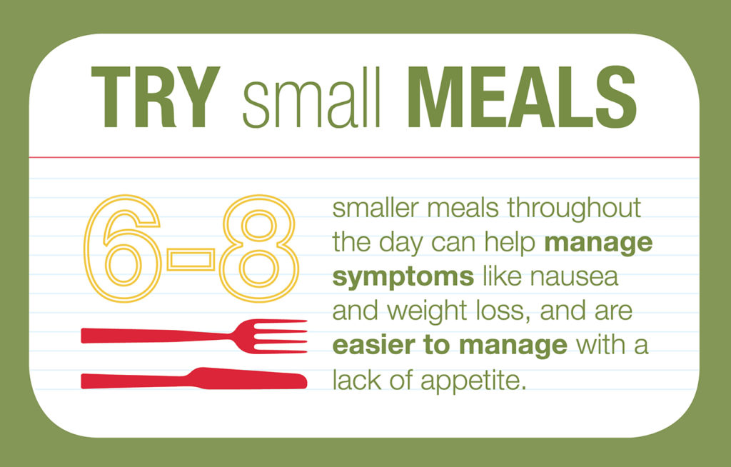 Five Nutrition Tips For Cancer Patients Infographic -5597