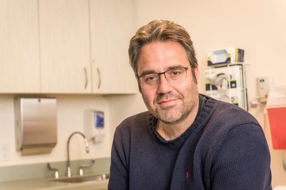 Doron Broman was diagnosed with metastatic pancreaticcancer at 44.