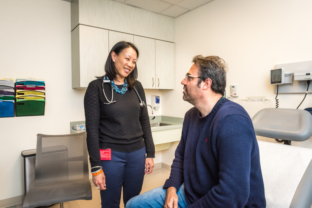 Broman's pancreatic cancer responded dramatically to treatment recommended by Kimmie Ng, MD.