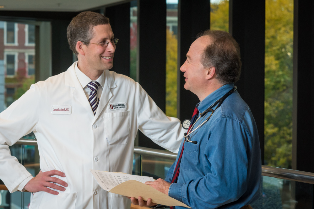 Paul Richardson, M.D. and Jacob Laubach, M.D.