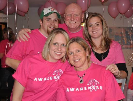 Mike Johnston, breast cancer