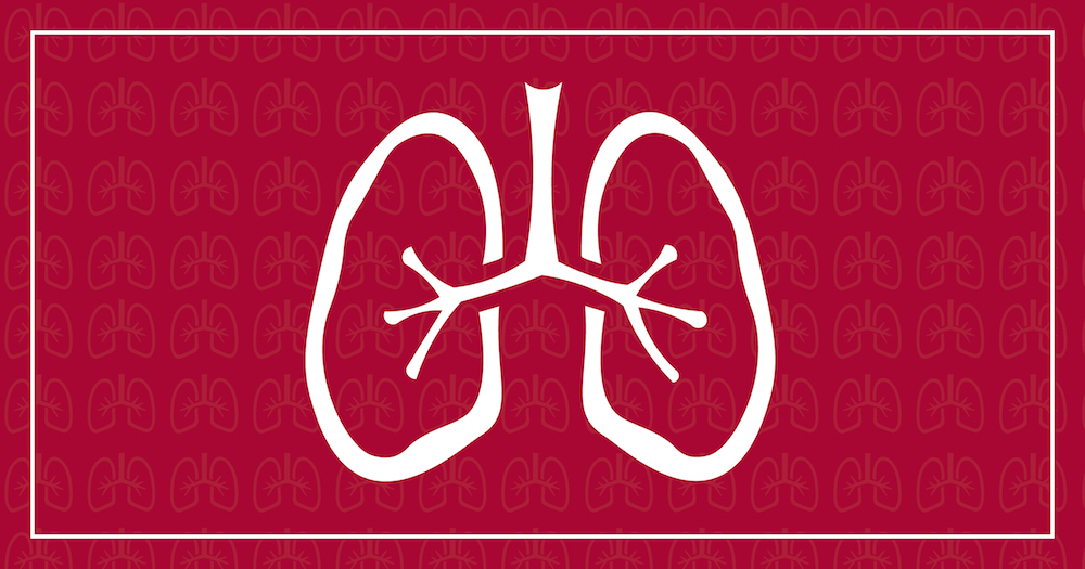 A cough, an expulsion of air from the lungs, is unrelated to cancer in the overwhelming majority of cases.