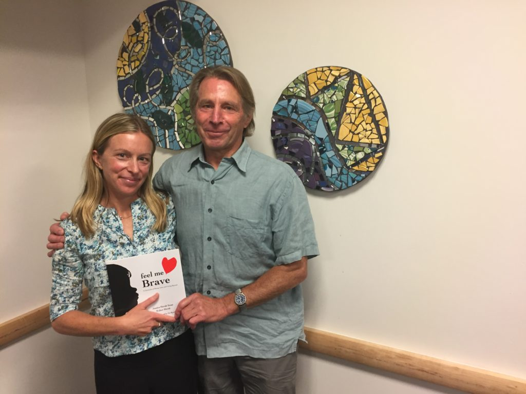 Jessica Horak Stout and her father Walter Horak co-wrote a book about their son/grandson's Ryland's year-long treatment for Diffuse Intrinsic Pontine Glioma (DIPG) and the period after his death at age three.
