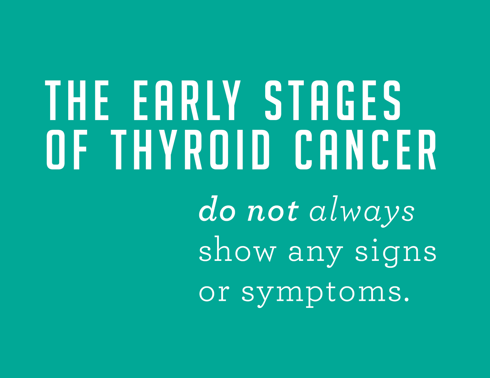 how to lose weight post thyroid cancer