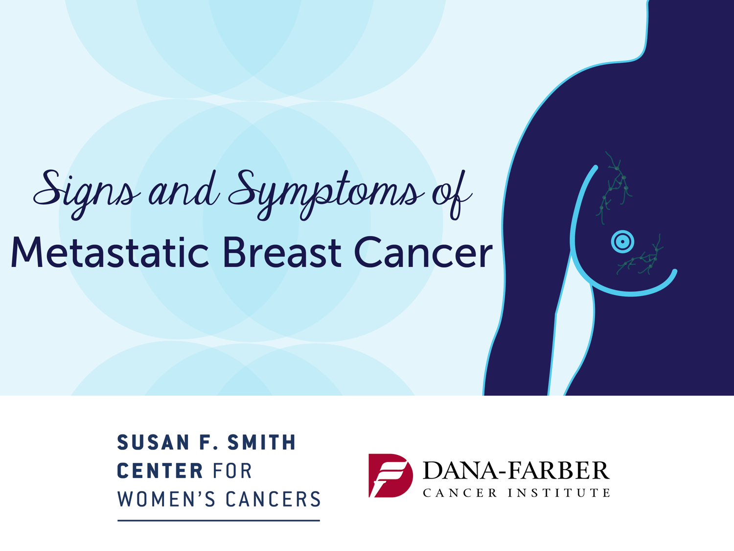 Signs and symptoms of metastatic breast cancer