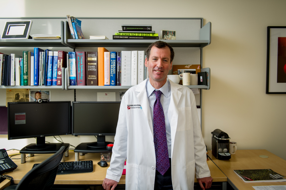 Ian E. Krop, MD, PhD, Chief of Breast Medical Oncology in the Susan F. Smith Center for Women's Cancers at Dana-Farber.