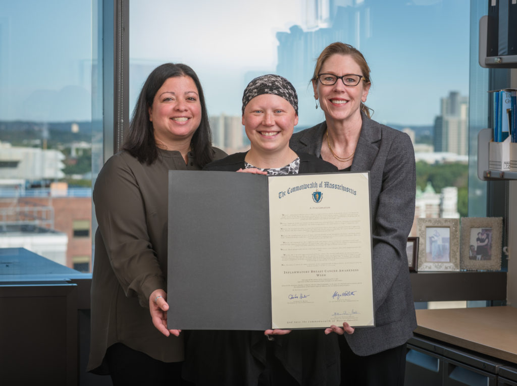 Ellen Thomas, Lynda Thomas, Beth Overmoyer, MD